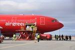 Ein Flugzeug, eine Strecke – über dem Atlantik mit Air Greenland
