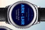 Smart Watch als Boardingpass