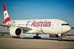 Mit der Austrian Airlines Boeing 777 nach Kapstadt