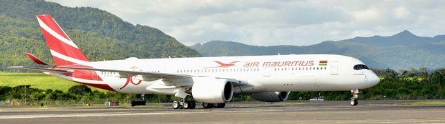 Zum Indischen Ozean mit der neuen A350 von Air Mauritius