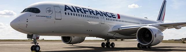 Atlantik-Überquerung in der neuen A350 von Air France