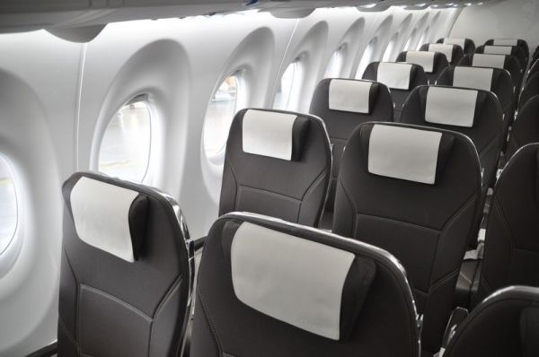 Swiss Bombardier CS100 Interior