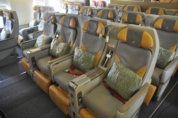 Alitalia Boeing 777 Premium Economy Class