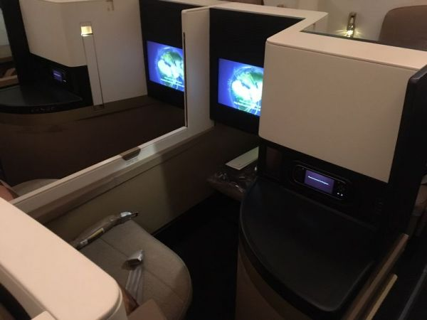 Etihad Airways Boeing 787-9 Business Studio