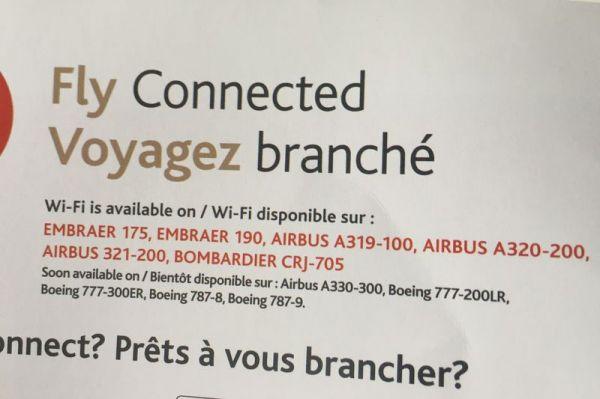 Air Canada WiFi