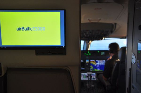 Air Baltic Bombardier CS300