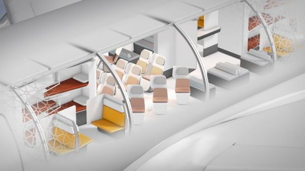 Airbus A3 Modulkabine Transpose