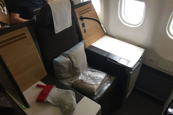 Swiss Airbus A330-300 Business Class