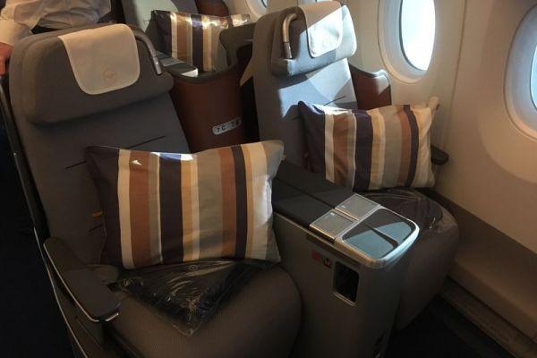 Lufthansa Airbus A350-900 Business Class