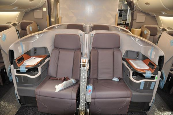 Singapore Airline Airbus A380 (2017) Business Class