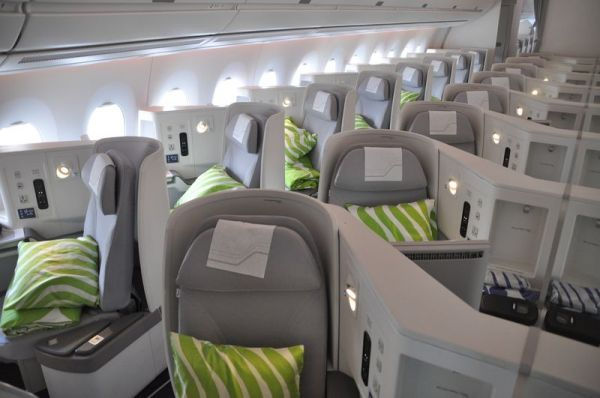 Finnair Airbus A330 Business Class