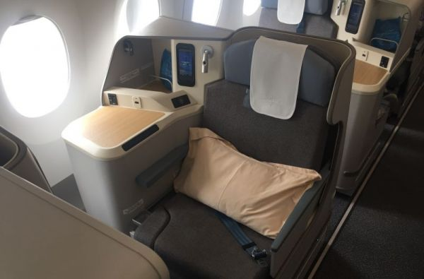 Air Mauritius Airbus A350-900 Business Class