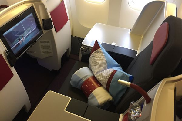 Austrian Airlines Boeing 777 Business Class