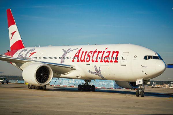 Austrian Airlines Boeing 777 Sibanye